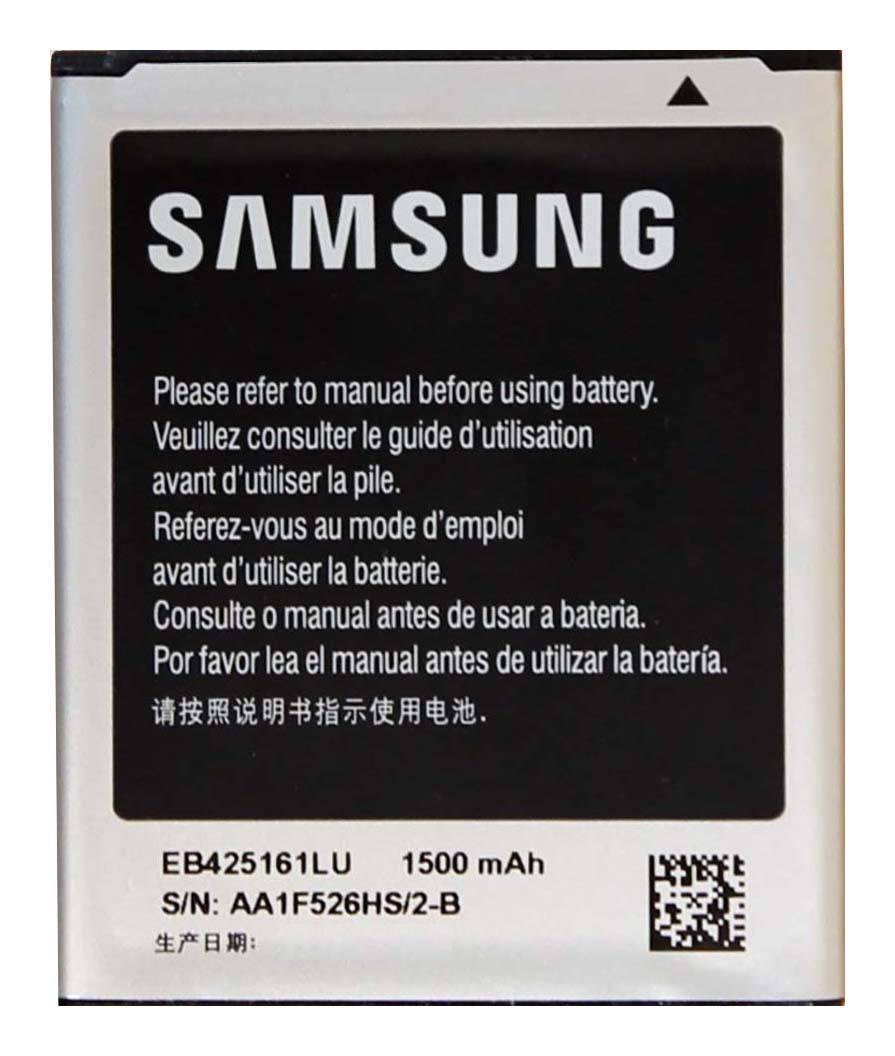 Original Samsung EB425161LU battery for Galaxy Ace 2 II Duos GT-S7560M GT-i8160 Pic0