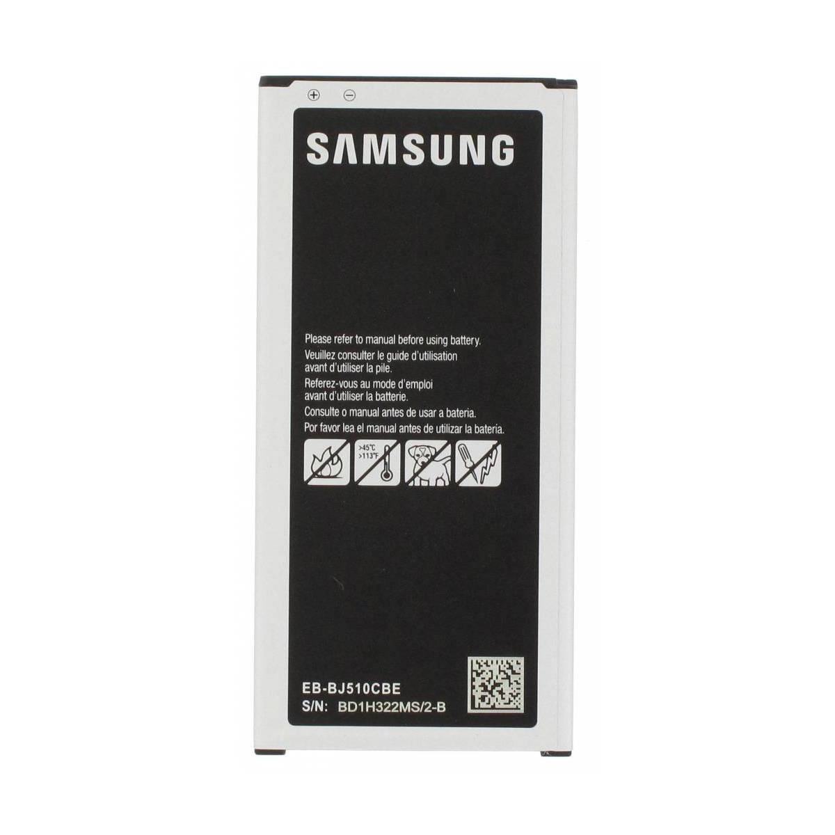 OEM Samsung Galaxy J5 (2016) battery EB-BJ510CBE 3100 mAh for SM-J510 Pic0