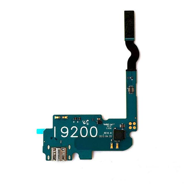 Charging port flex cable and microphone for Samsung Galaxy Mega 6.3 GT-i9200 Pic0