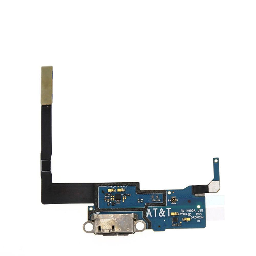 Charging port flex cable and microphone for Samsung Galaxy Note 3 SM-N900A Pic0