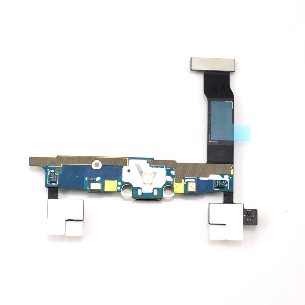 Charging port flex cable and microphone for Samsung Galaxy Note 4 SM-N910V Pic4