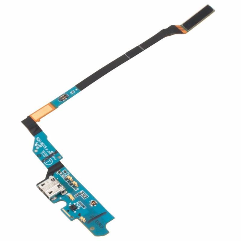 Charging port flex cable and microphone for Samsung Galaxy S4 SGH-M919 SGH-M919V Pic1