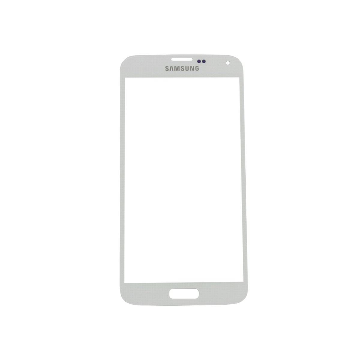 Samsung Galaxy S5 White Front Glass Lens with Adhesive and Free Tools Pic1