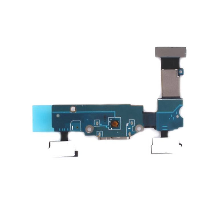 Charging port flex cable and microphone for Samsung Galaxy S5 G900W8 G900F G900T Pic3