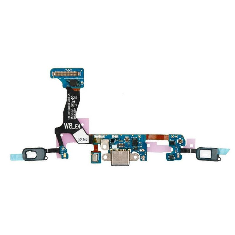 Charging port flex cable with microphone for Samsung Galaxy S7 SM-G930W8 G930F Pic0
