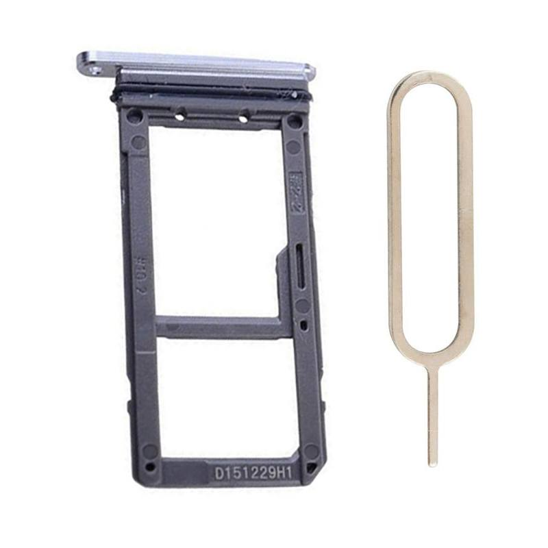 Original Samsung Galaxy S7 Edge SIM Card Tray Holder with Eject Tool - Blue Pic1