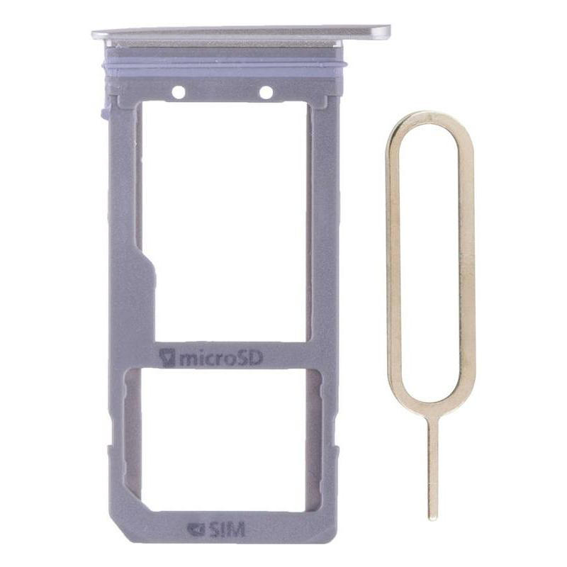 Original Samsung Galaxy S7 Edge SIM Card Tray Holder with Eject Tool - Gold Pic0