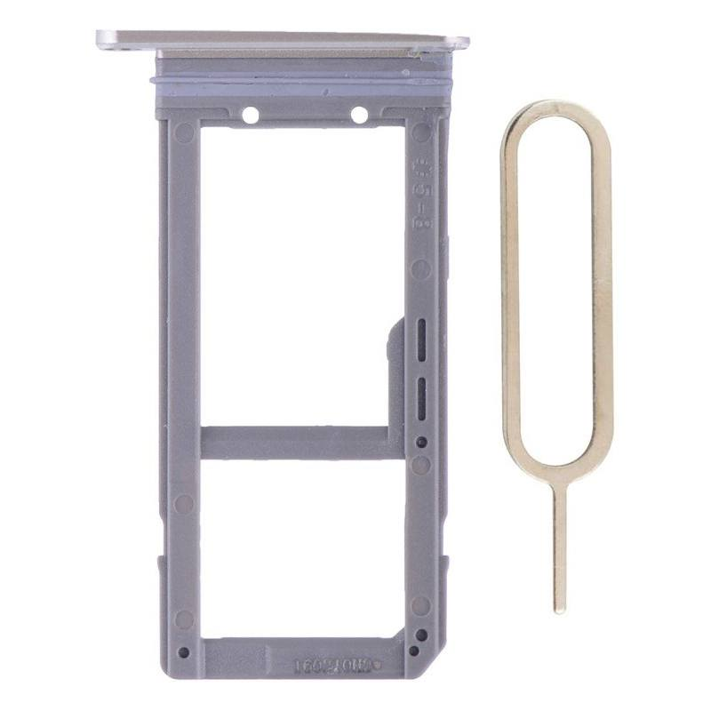 Original Samsung Galaxy S7 Edge SIM Card Tray Holder with Eject Tool - Gold Pic1