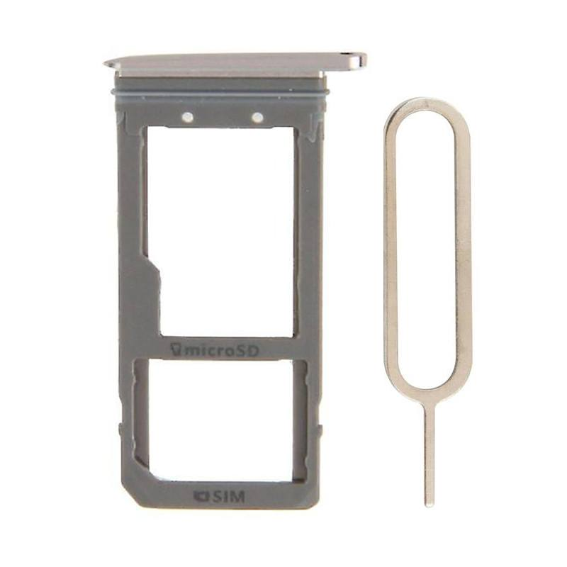 Original Samsung Galaxy S7 Edge SIM Card Tray Holder with Eject Tool - Rose Pic0