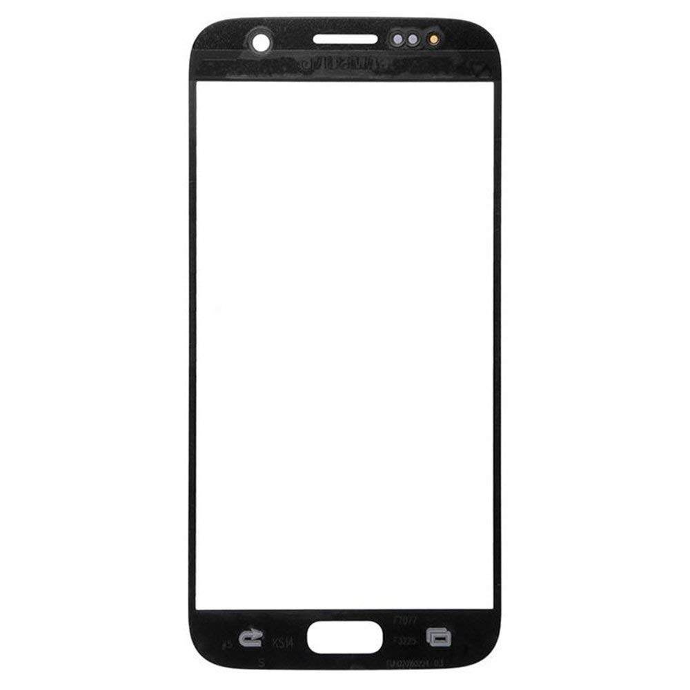 Samsung Galaxy S7 Front Glass Lens with Adhesive and Free Tools - Black Pic2
