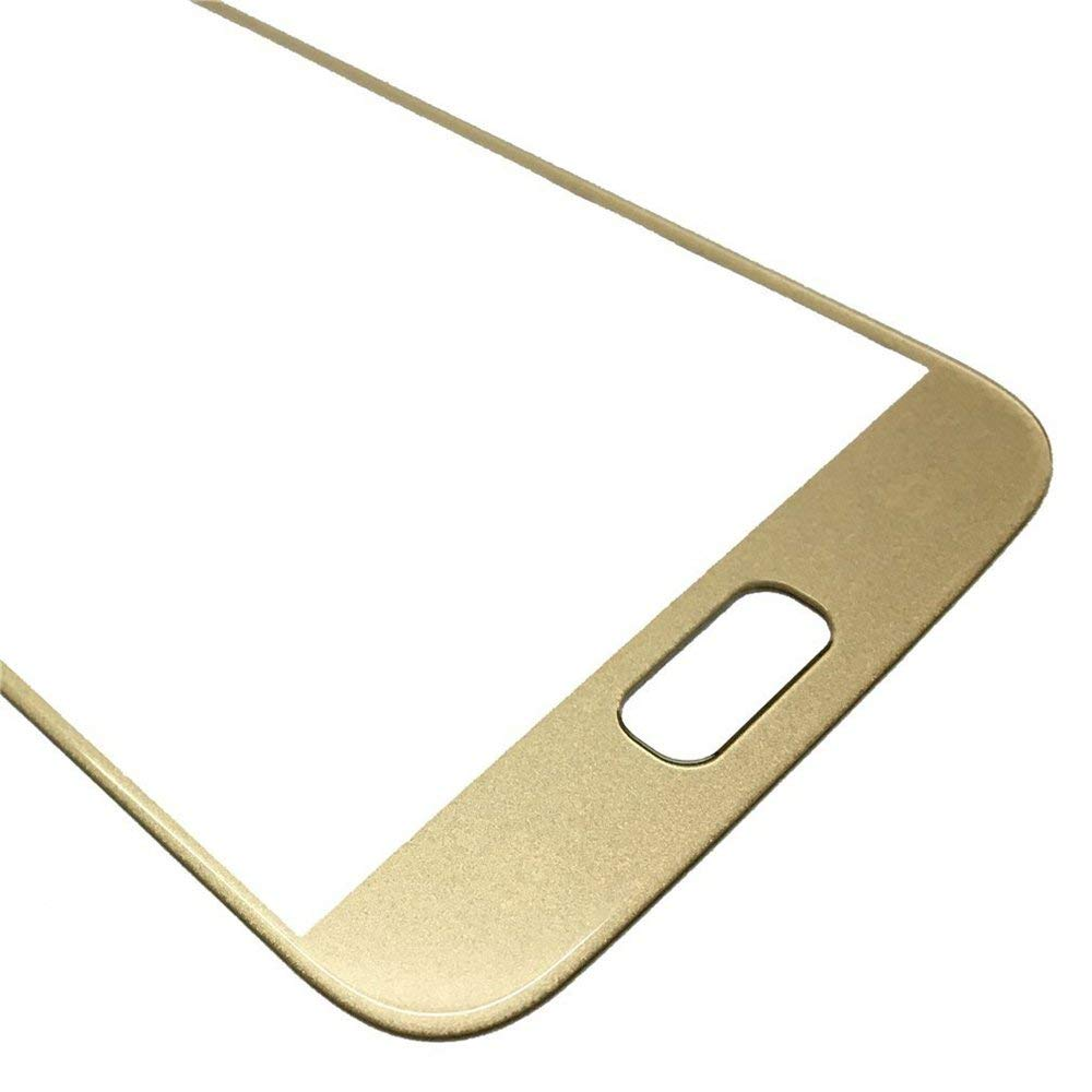 Samsung Galaxy S7 Front Glass Lens with Adhesive and Free Tools - Gold Pic3