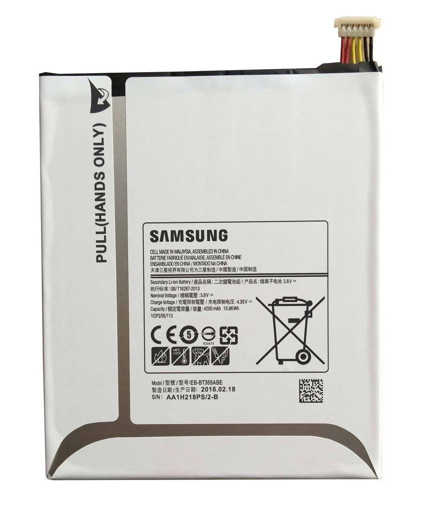 Original Samsung Galaxy Tab A 8.0 battery EB-BT355ABE 4200 mAh for SM-T350 T355 Pic1