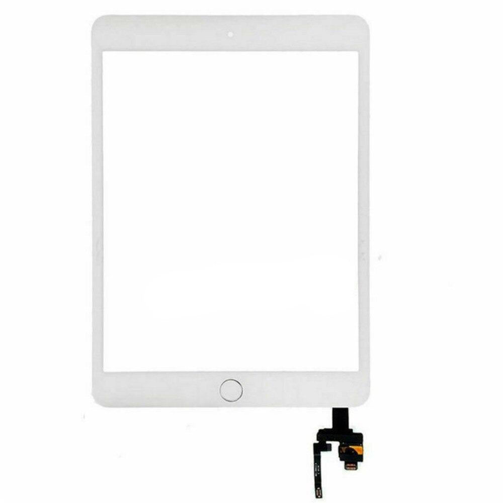 Touch Screen Digitizer + IC Connector for iPad Mini 3 A1599 A1600 Black / White Pic6