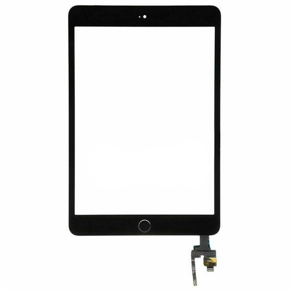 Touch Screen Digitizer + IC Connector for iPad Mini 3 A1599 A1600 Black / White Pic7