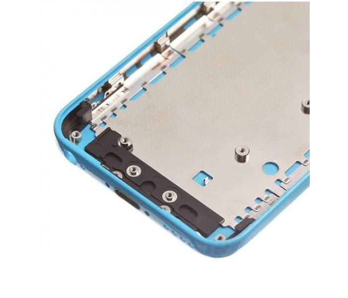 Blue Back Housing Mid Frame Assembly iPhone 5C A1456 A1507 A1516 A1529 A1532 Pic2