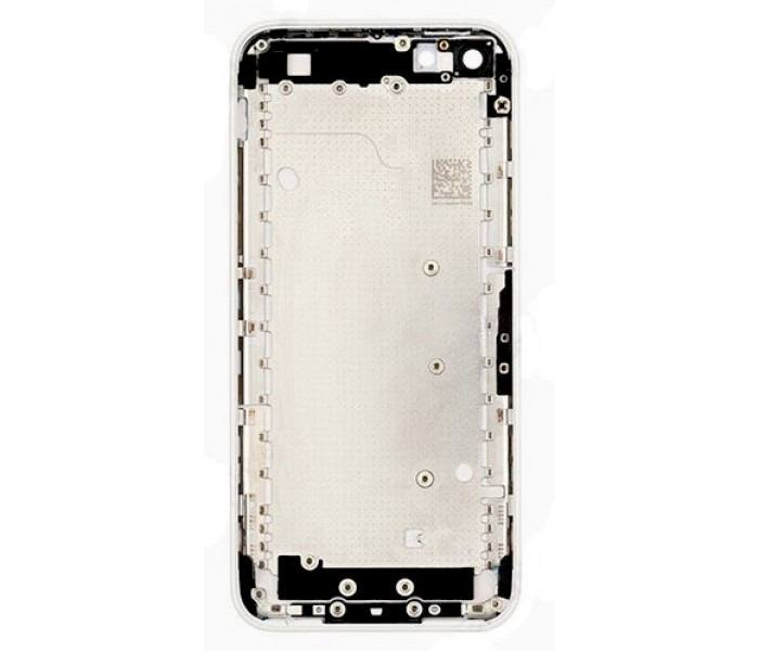 White Back Housing Mid Frame Assembly iPhone 5C A1456 A1507 A1516 A1529 A1532 Pic1