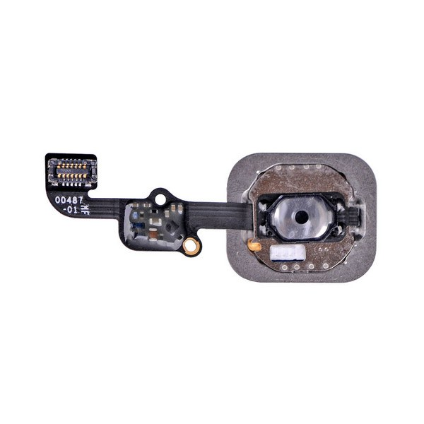 Black Home Button flex cable for iPhone 6S A1633 A1688 A1700 6S Plus A1634 A1687 Pic1