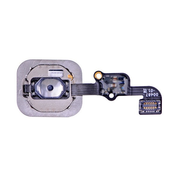 Black Home Button flex cable for iPhone 6S A1633 A1688 A1700 6S Plus A1634 A1687 Pic2