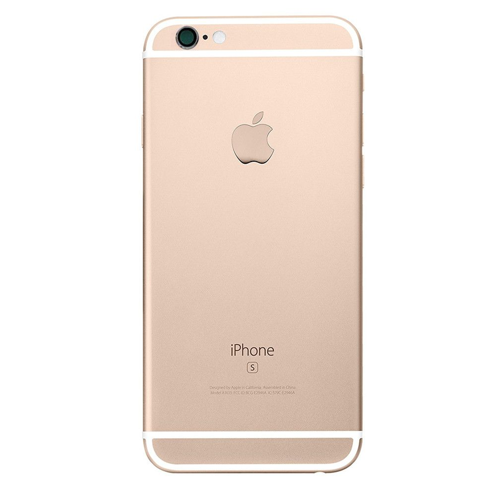 Gold Replacement Back Housing Mid Frame Assembly for iPhone 6S A1633 A1688 A1700 Pic3