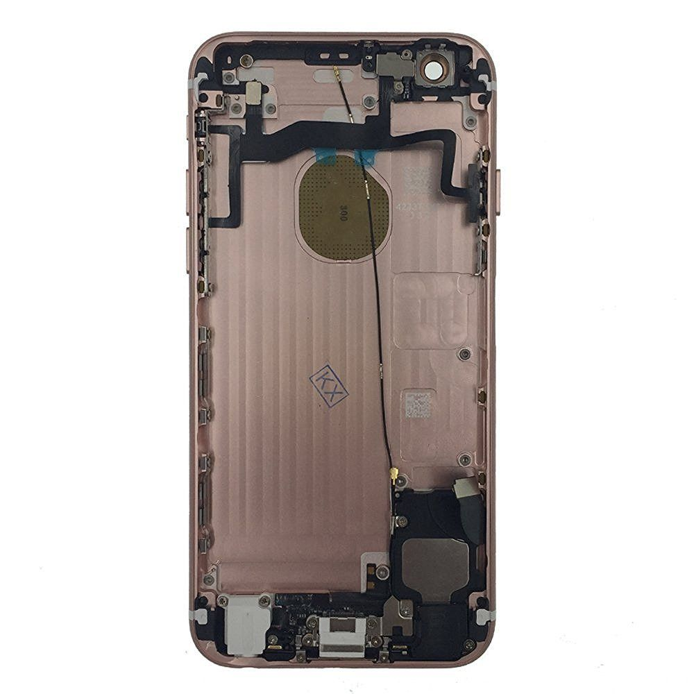 Rose Gold Back Housing Mid Frame Cables, Parts for iPhone 6S A1633 A1688 A1700 Pic1