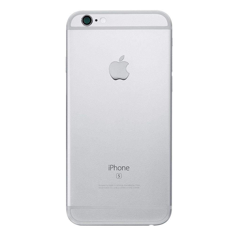 Silver Back Housing Mid Frame with Cables, Parts for iPhone 6S A1633 A1688 A1700 Pic2