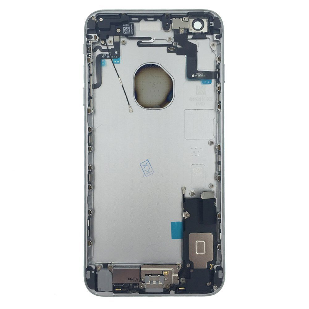 Gray Back Housing Mid Frame Assembly with Parts iPhone 6S Plus A1634 A1687 A1699 Pic1