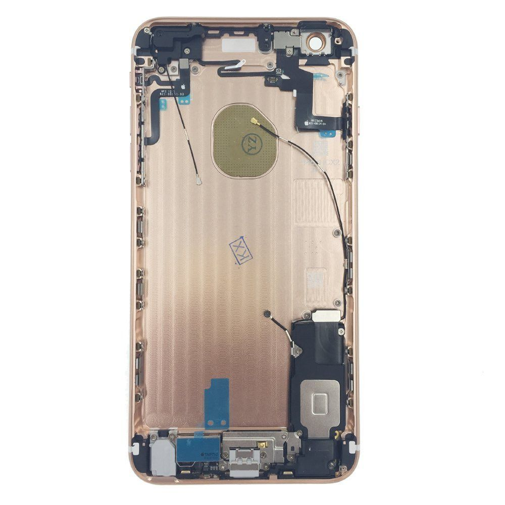 Rose Gold Back Housing Mid Frame Assembly with Parts iPhone 6S Plus A1634 A1687 Pic1