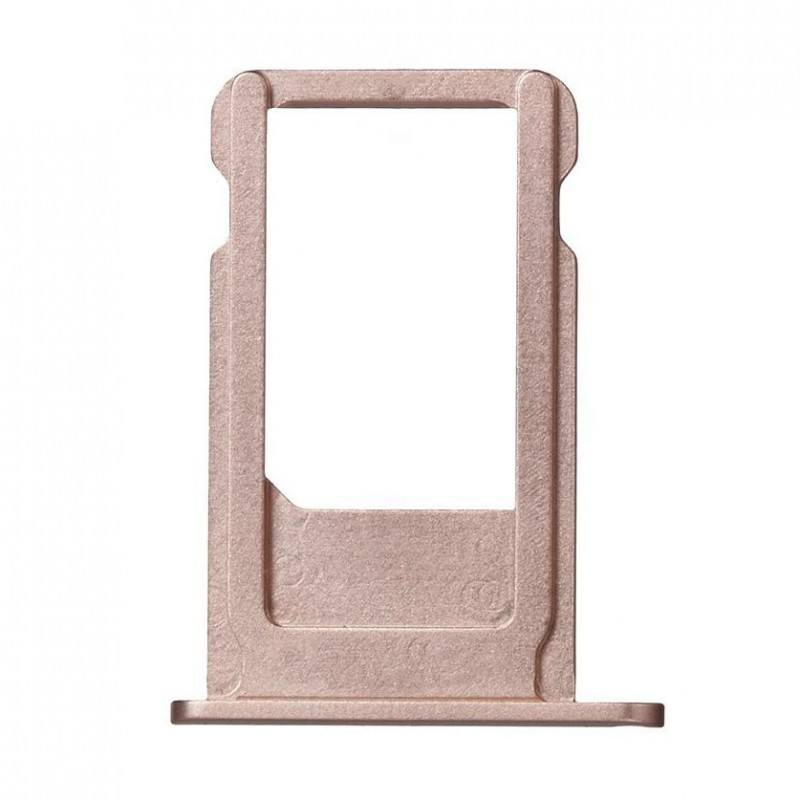 Rose Gold SIM Card Tray Holder with Eject Tool iPhone 6S Plus A1634 A1687 A1699 Pic1