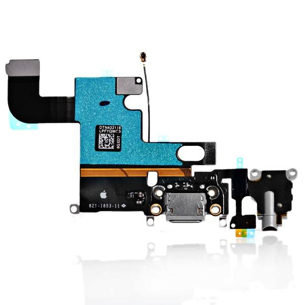 Charging Port Headphone Audio Jack Flex Cable for iPhone 6 A1549 A1586 A1589 Pic0