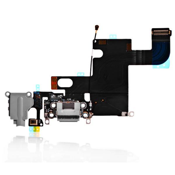 Charging Port Headphone Audio Jack Flex Cable for iPhone 6 A1549 A1586 A1589 Pic1