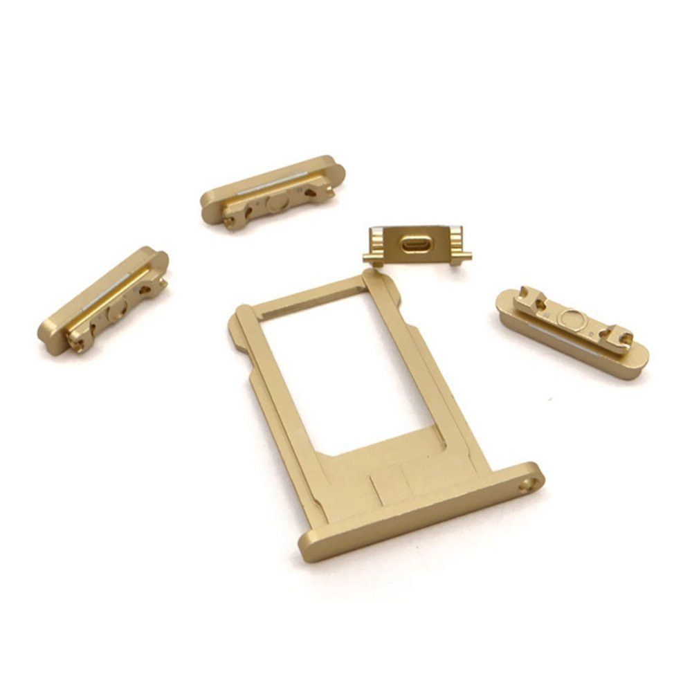 Gold Back Housing Mid Frame Assembly Replacement for iPhone 6 A1549 A1586 A1589 Pic3