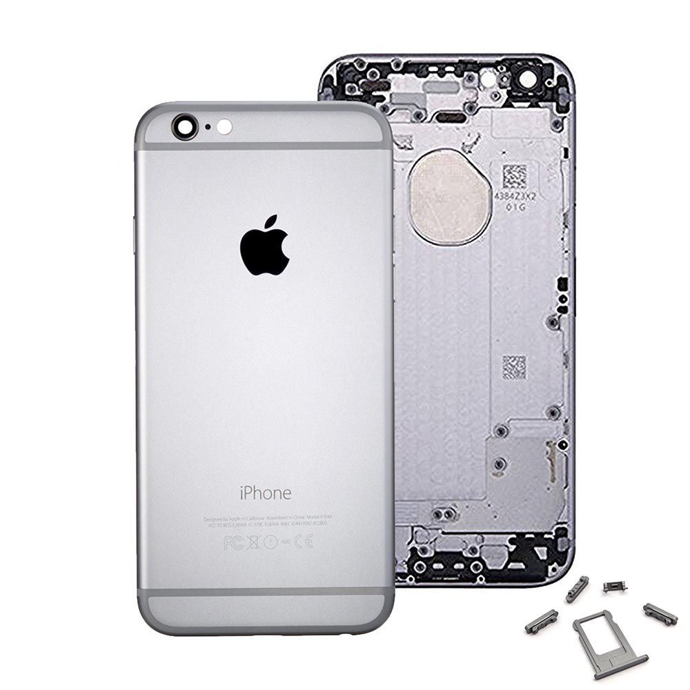 Gray Back Housing Mid Frame Assembly for iPhone 6 A1549 A1586 A1589 Pic0