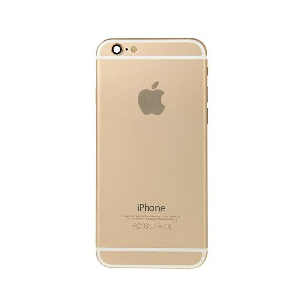 Gold Back Housing Mid Frame Assembly + Parts for iPhone 6 Plus A1522 A1524 A1593 Pic1