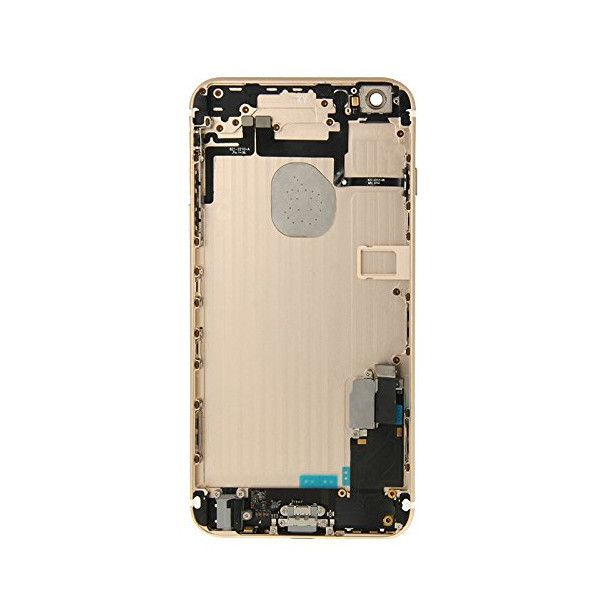 Gold Back Housing Mid Frame Assembly + Parts for iPhone 6 Plus A1522 A1524 A1593 Pic2