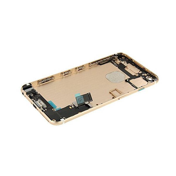 Gold Back Housing Mid Frame Assembly + Parts for iPhone 6 Plus A1522 A1524 A1593 Pic3