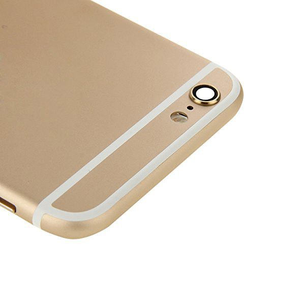 Gold Back Housing Mid Frame Assembly + Parts for iPhone 6 Plus A1522 A1524 A1593 Pic4