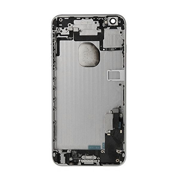 Gray Back Housing Mid Frame Assembly + Parts for iPhone 6 Plus A1522 A1524 A1593 Pic2