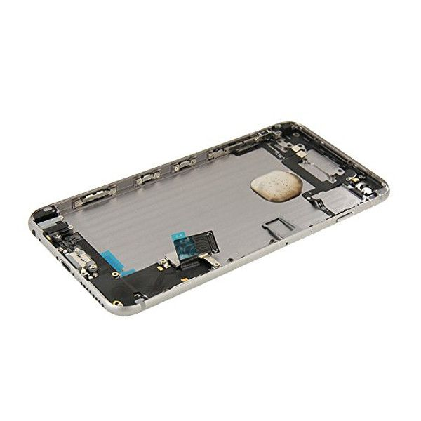 Gray Back Housing Mid Frame Assembly + Parts for iPhone 6 Plus A1522 A1524 A1593 Pic3