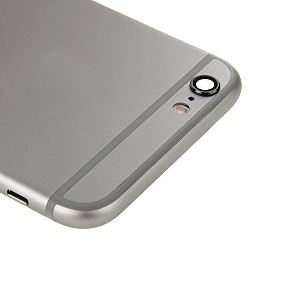 Gray Back Housing Mid Frame Assembly + Parts for iPhone 6 Plus A1522 A1524 A1593 Pic4