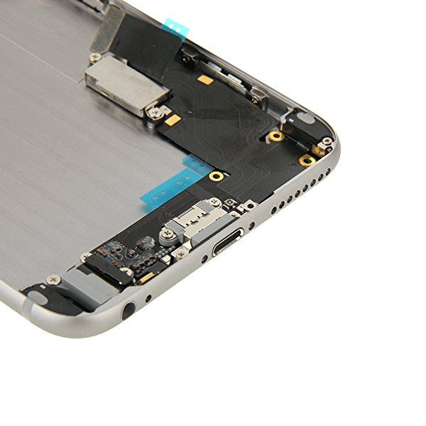 Gray Back Housing Mid Frame Assembly + Parts for iPhone 6 Plus A1522 A1524 A1593 Pic5