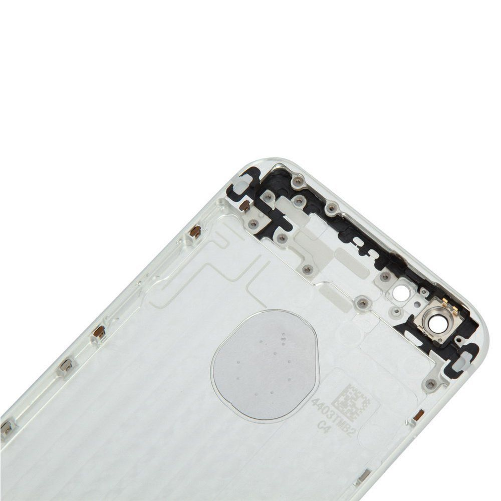 Silver Back Housing Mid Frame Assembly for iPhone 6 Plus A1522 A1524 A1593 Pic3