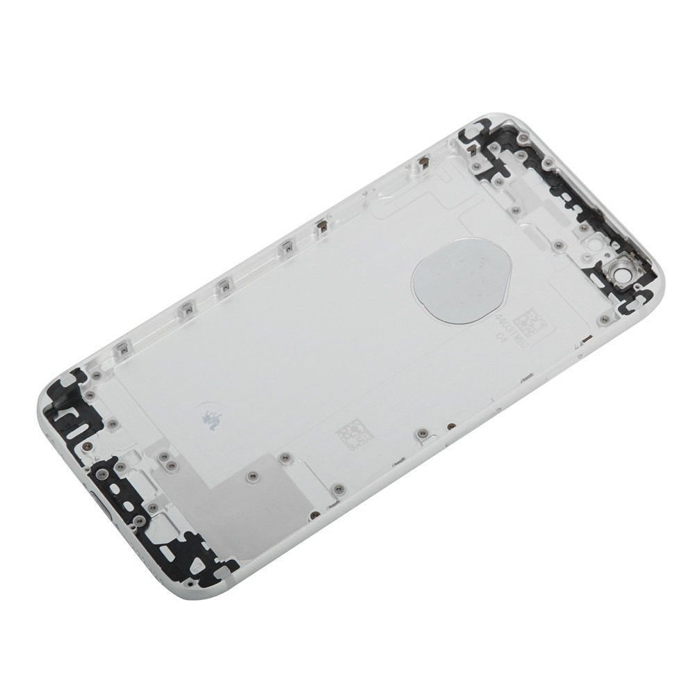 Silver Back Housing Mid Frame Assembly for iPhone 6 Plus A1522 A1524 A1593 Pic4