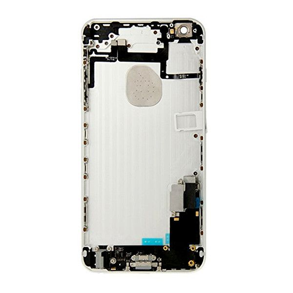 Silver Back Housing Mid Frame Assembly + Parts iPhone 6 Plus A1522 A1524 A1593 Pic2