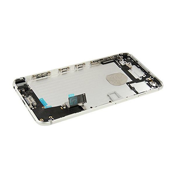 Silver Back Housing Mid Frame Assembly + Parts iPhone 6 Plus A1522 A1524 A1593 Pic3