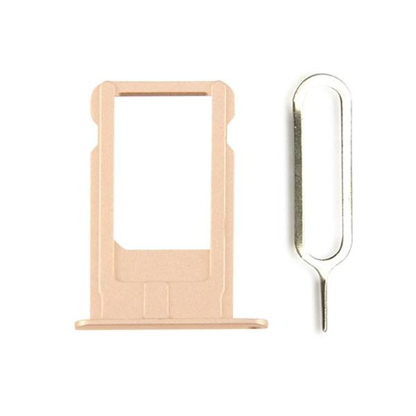 Gold SIM Card Tray Holder with Eject Tool for iPhone 6 Plus A1522 A1524 A1593 Pic0