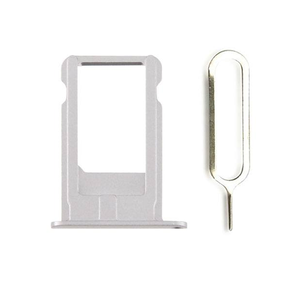 Gray SIM Card Tray Holder with Eject Tool for iPhone 6 Plus A1522 A1524 A1593 Pic0