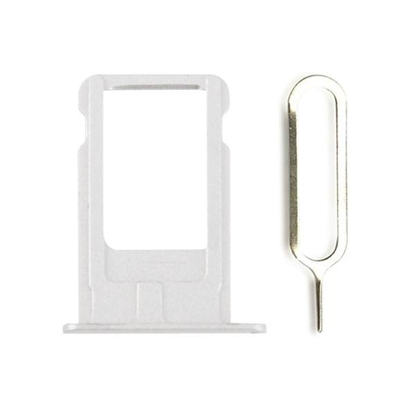 Silver SIM Card Tray Holder with Eject Tool for iPhone 6 Plus A1522 A1524 A1593 Pic0