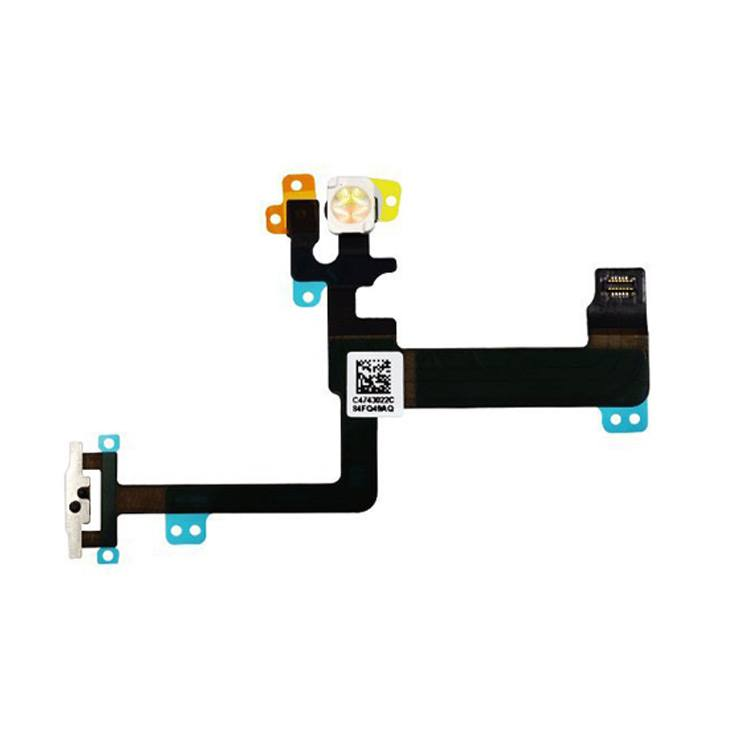 On Off Power Button Switch Flex Cable for iPhone 6 Plus A1522 A1524 A1593 Pic0