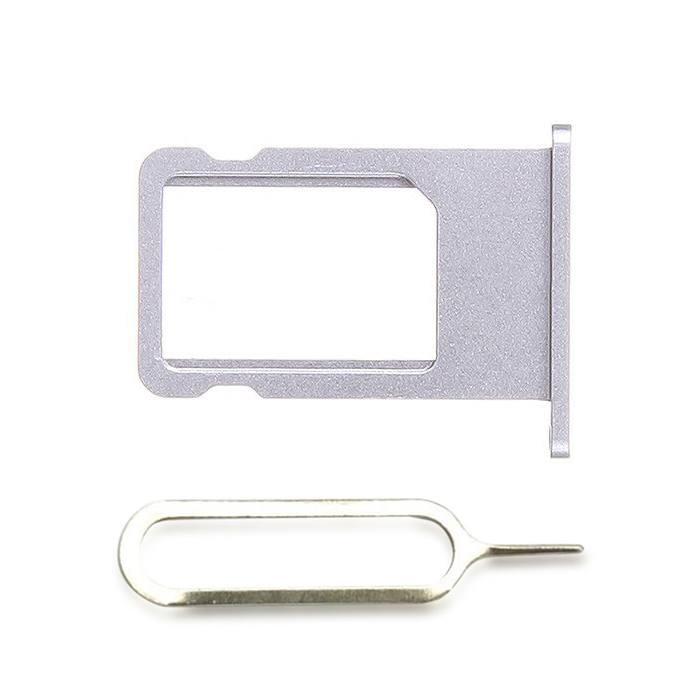 Gray SIM Card Tray Holder with Eject Tool for iPhone 6 A1549 A1586 A1589 Pic0