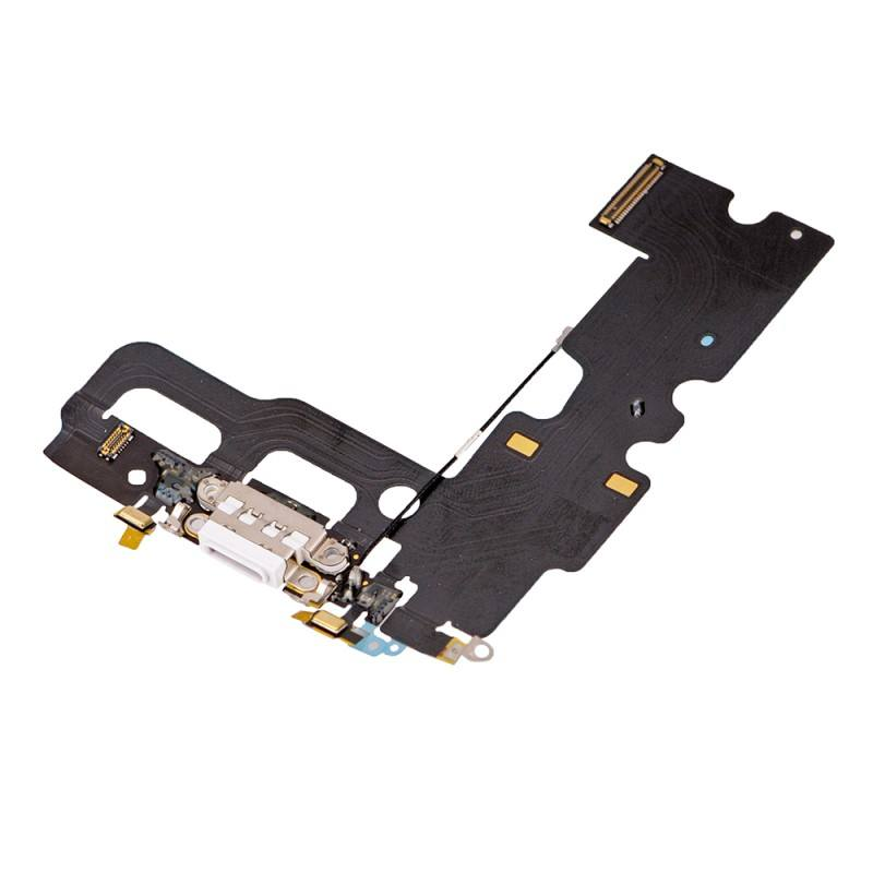 White Charging Dock Port Assembly Flex Cable  for iPhone 7 A1660 A1778 A1779 Pic1